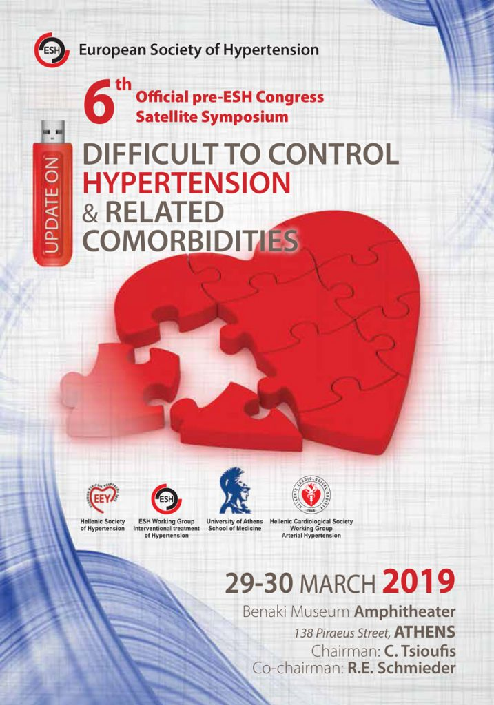 6th Official Pre ESH Congress Satellite Symposium – Update on Difficult to Control Hypertension and Related co Morbidities
