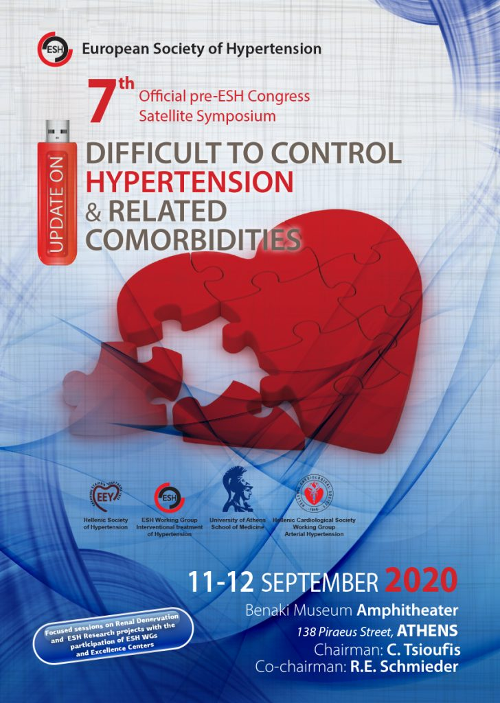 7th Official Pre ESH Congress Satellite Symposium – Update on Difficult to Control Hypertension and Related co Morbidities