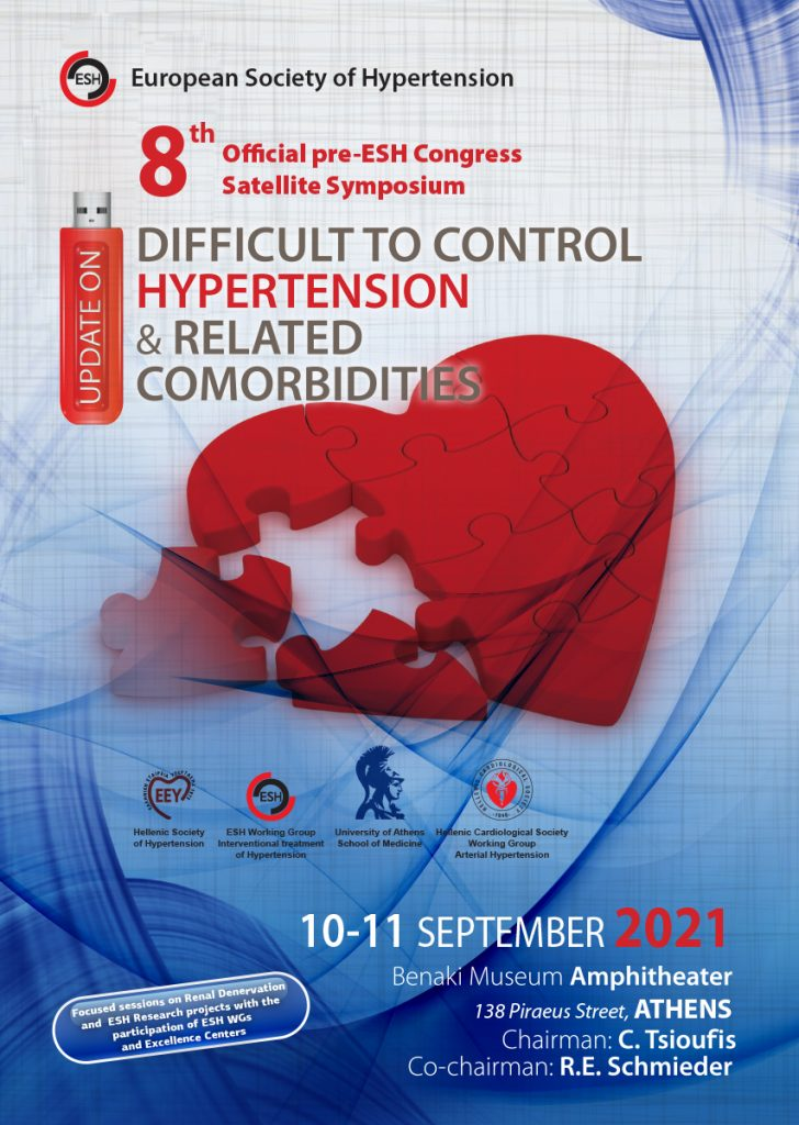 8th Official Pre ESH Congress Satellite Symposium – Update on Difficult to Control Hypertension and Related co Morbidities