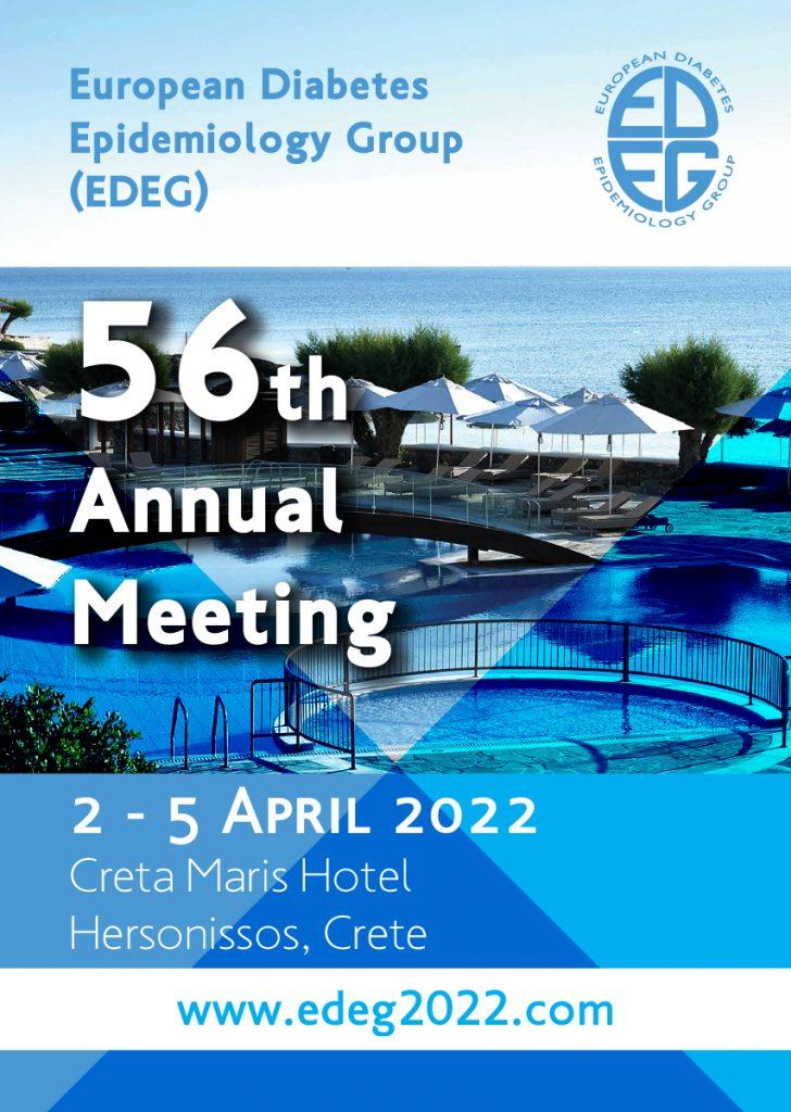 56th Annual Meeting of the European Diabetes Epidemiology Group (EDEG)