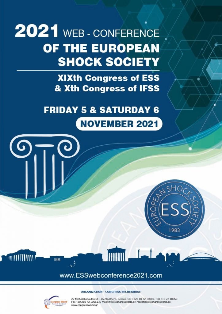 2021 Web Conference of the European Shock Society